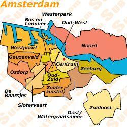 amsterdam postal codes map - Google Search