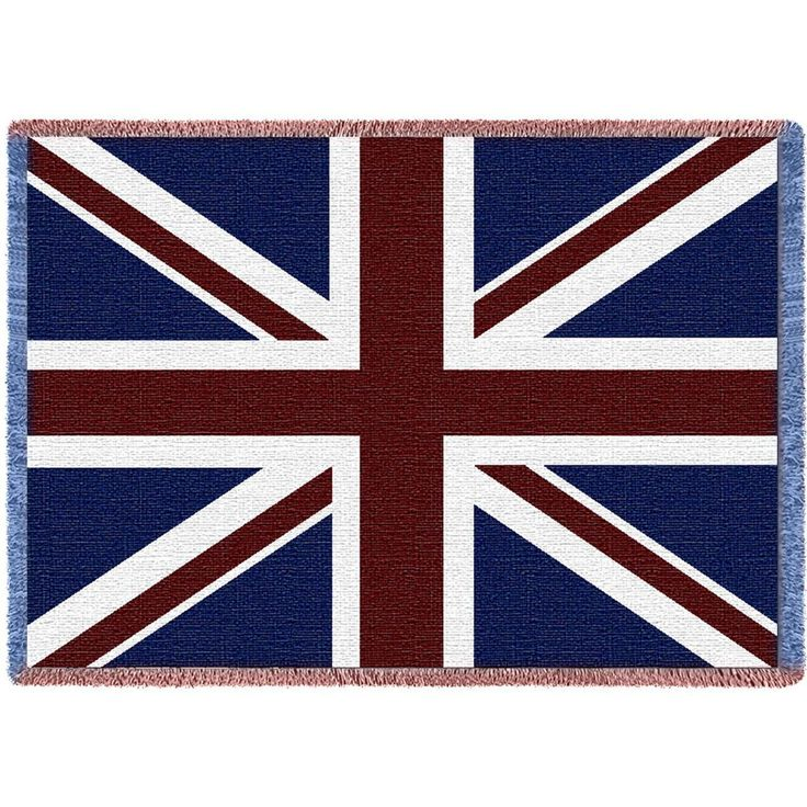 Union Jack Art Tapestry Throw