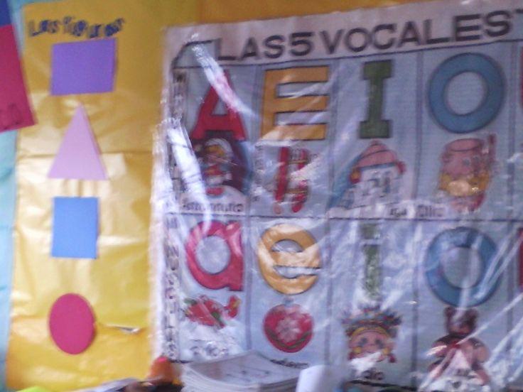 figuras geométricas y vocales