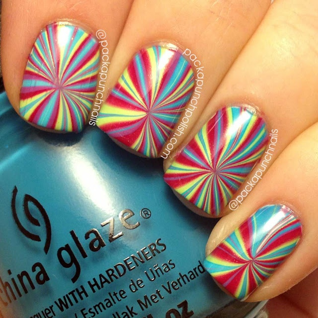 Best 25 water marble nails ideas on pinterest water marble nail star burst water marble nail art prinsesfo Choice Image