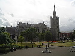 St Patrick's Cathedral, Dublin - The author of Gullivers Travels, Johnathon Swift was Dean of this Cathedral in the 1700's.