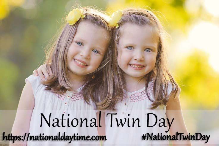 National Twin Day 2020 Sunday, August 9 in 2020
