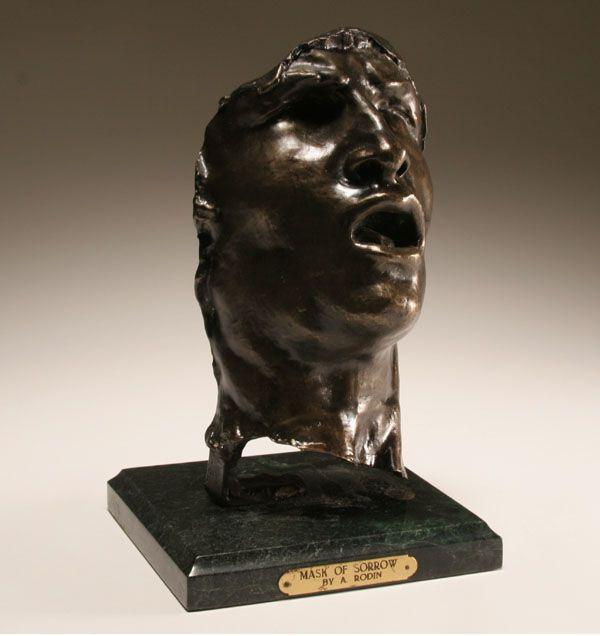 Rodin Mask of Sorrow