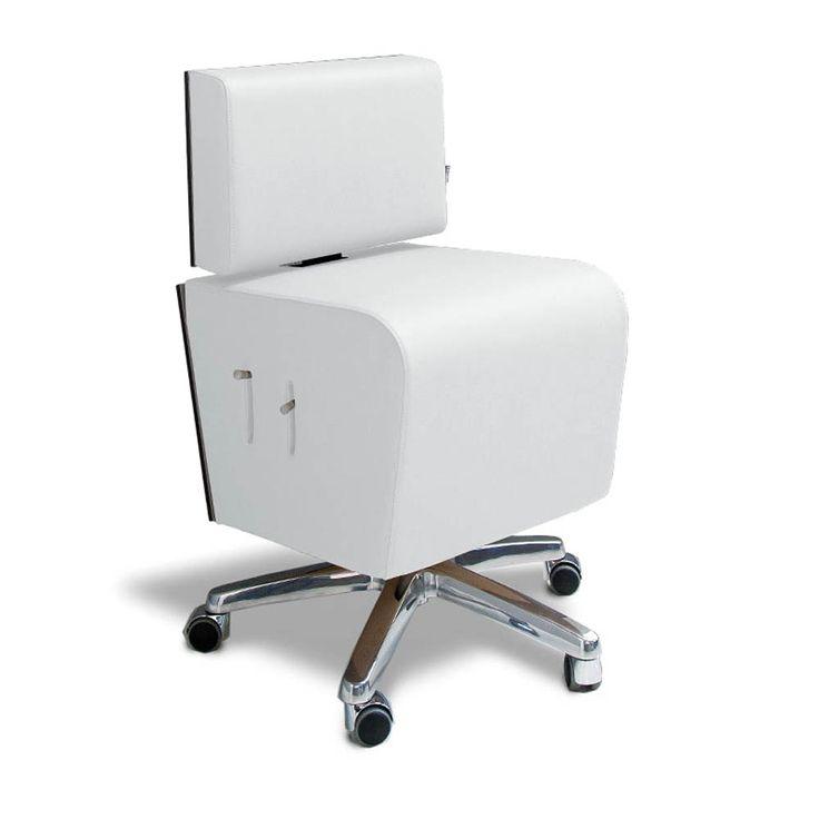 Gharieni Stuhl MLX  exklusiv designte Sitzfläche mit integriertem Staufach // pneumatische Höhenverstellung, 50-62 cm // drehbarer Sitz // Lehne mit Höhen und Neigungsverstellung // attraktive HolzDecor-Applikation in...