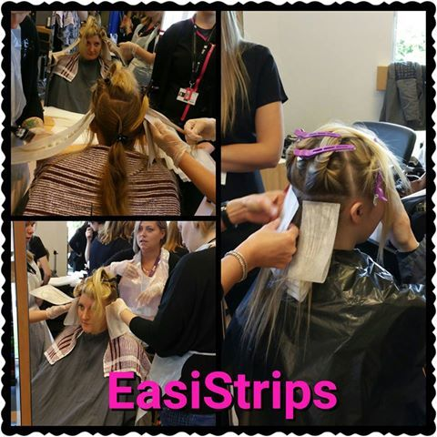 EasiStrips at a college teaching students levels 1,2 and 3's on how to place EasiStrips for easier placement.