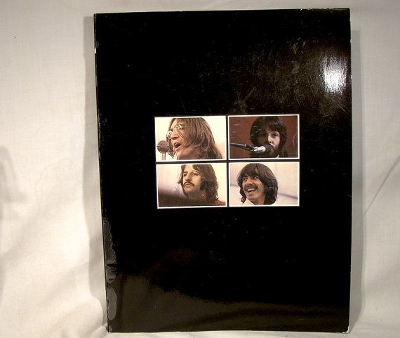 Beatles Let It Be Book from the rare Let It Be Box Set Album
