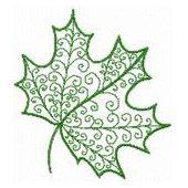 swirly leaf