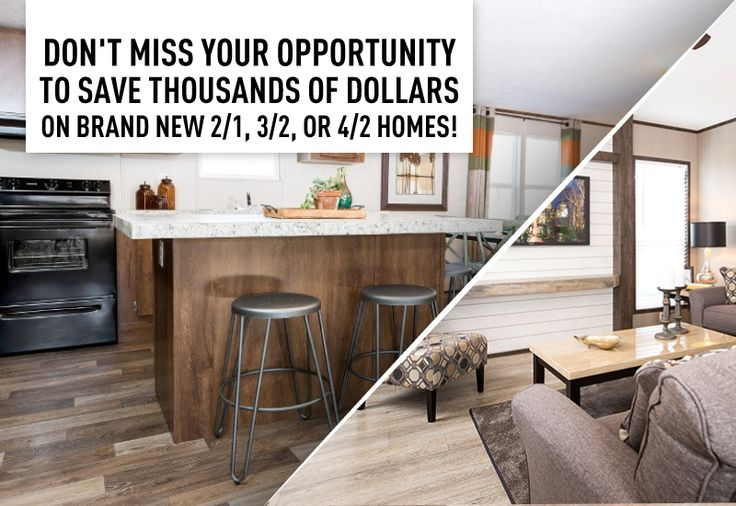 Don't Miss Your Opportunity To SAVE Thousands Of Dollars On Brand New 2/1, 3/2, Or 4/2 Homes! If your goal is to move into a new home, then purchasing during our end of year sale puts you in position to get the best deal possible! We have historically low prices on models like Clayton, TruMH, Fleetwood and more! Save from $5,000 to $10,000 or more on select models in stock! MHDRET00036202