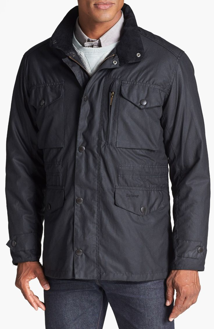 Barbour 'Sapper' Weatherproof Waxed Relaxed Fit Jacket