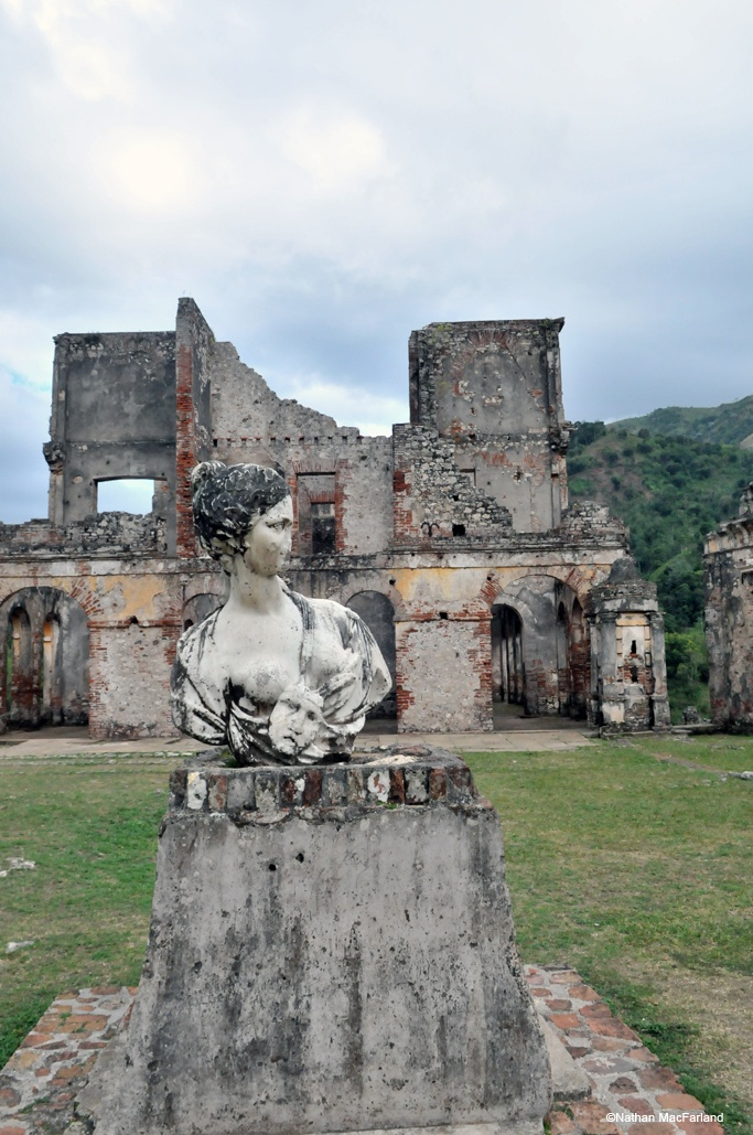 Among the historical places to visit in Milot are the ruins of the Sans Souci Palace. Built in the early 1800's for ruler Henri Christophe, Sans Souci Palace is currently in ruins as a result of and earthquake in 1842, and has never been reconstructed.  As you can see in these photos by photographers Patti Gabriel and Nathan MacFarland, Sans Souci Palace is a beautiful structure even in its destructed state.