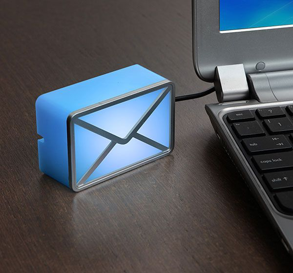 USB Powered E-Mail Notifier