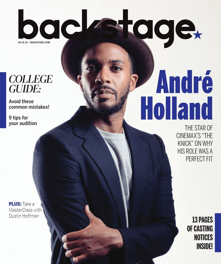 "Andre Holland talks about how his Southern upbringing and theater has helped him star in ""The Knick""!"