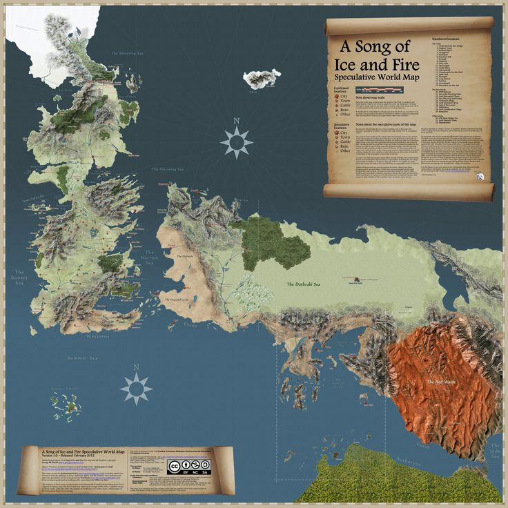 http://www.sermountaingoat.co.uk/map/versions/speculative_map.jpg   awesome interactive map for the Game of Thrones world