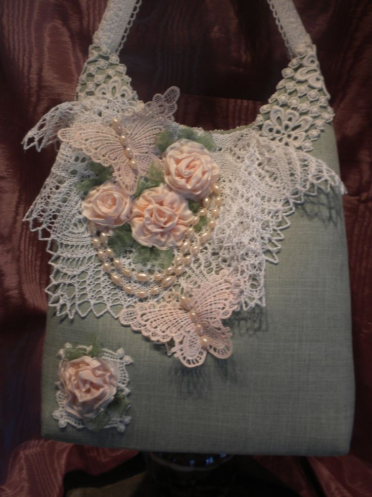 Butterflies,Pearls And Roses   Chic Handbag by touchograce on Etsy https://www.etsy.com/listing/120413104/butterfliespearls-and-roses-chic-handbag