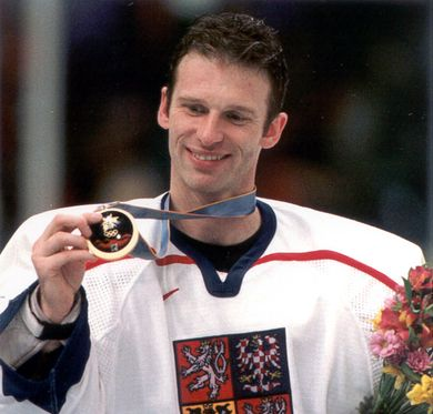 Dominik Hasek led the Czechs to the gold in the 1998 Olympic Winter Games. Photo: IIHF Archives