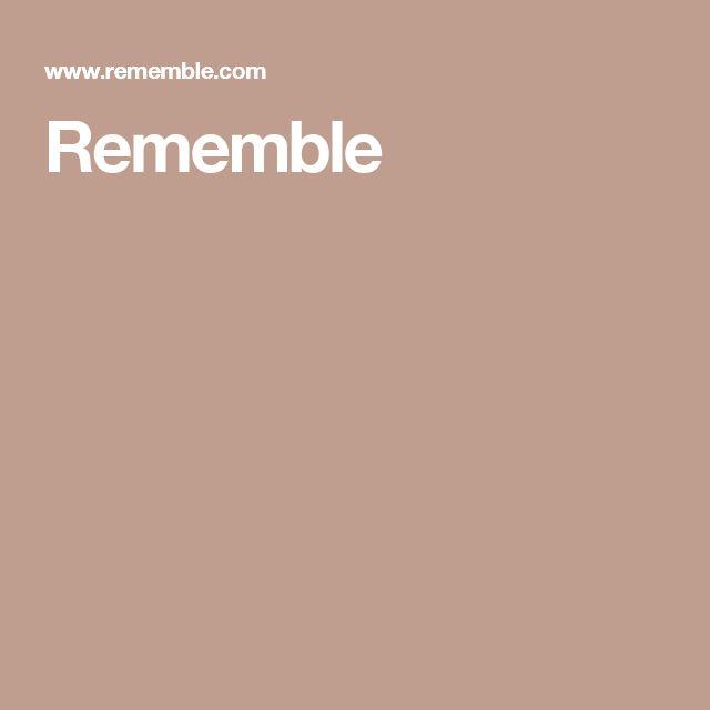 Rememble