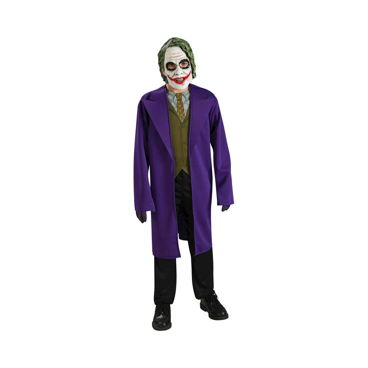 Halloween The Dark Knight Kids' The Joker Costume Large (12-14), Boy's, Size: L (12-14), Variation Parent