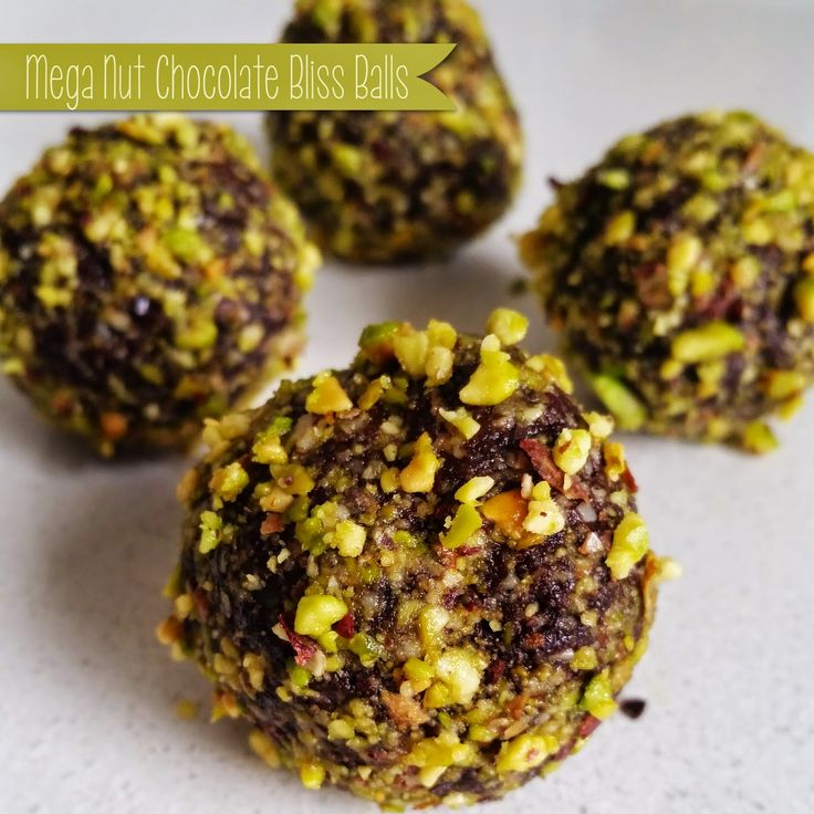 A Little Bit Of Homemade Heaven: Mega Nut Chocolate Bliss Ball