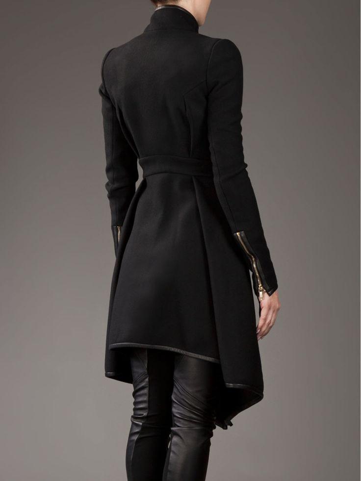 Black coat ~ Gareth Pugh