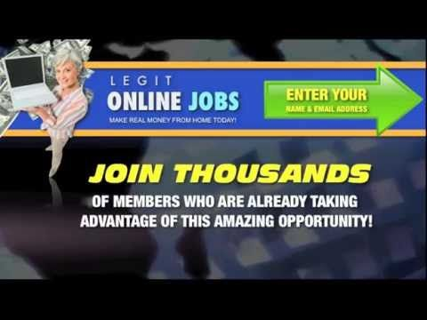How To Find Legit Work From Home Jobs Online On 2013  Let me ask you a simple question... Could you use some extra money? You could! Great!  to spend is a couple of hours a day at your home computer...