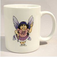 Fly Lady Mug - part fairy godmother, cheerleader & drill sergeant