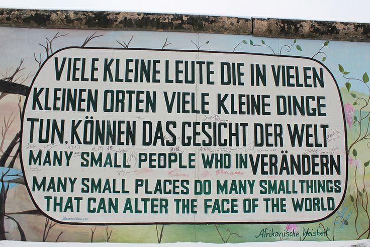 Berliner Mauer. Berlin Wall. East Side Gallery.