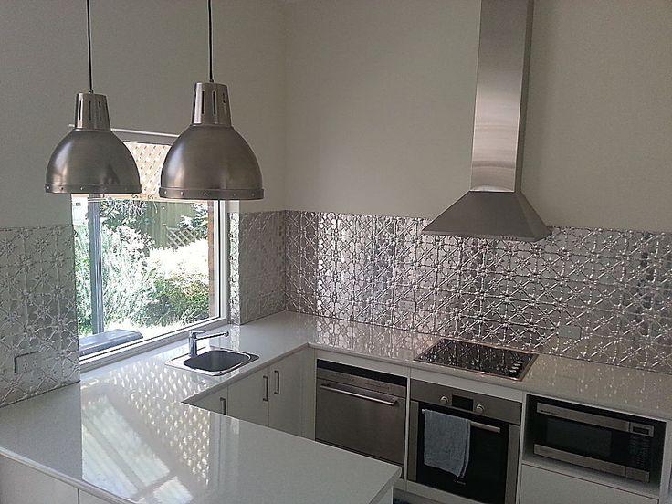 Pressed Tin, Tin Tile Backsplash And Kitchen Wood