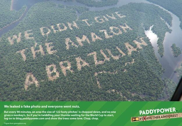 PaddyPower digital marketing stunt