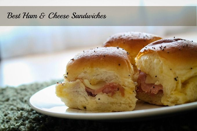 The best ham and cheese sandwiches! Easy, quick and delicious!! Are requested at any event I attend now.