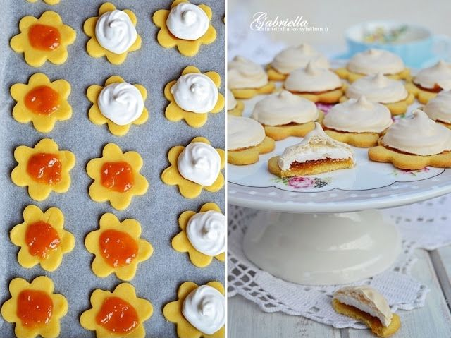 Gabriella kalandjai a konyhában :): Habcsókos linzer
