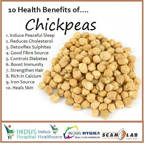 10 Health Benefits of Chickpeas...