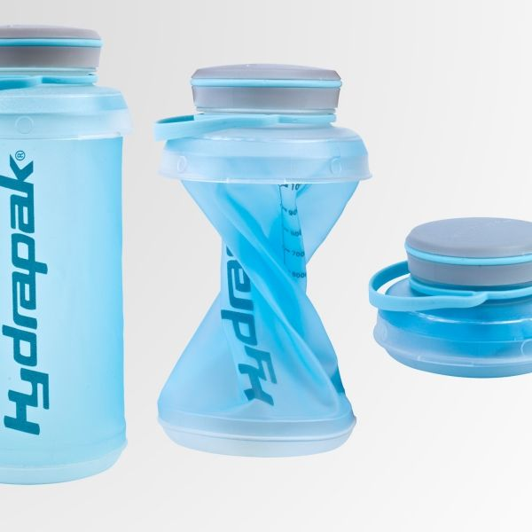 A space-saving design with that real water-bottle feel