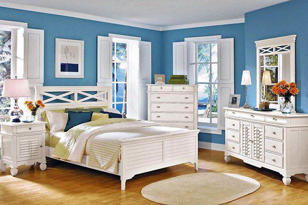 Bright Blue Bedroom Bright Blue Bedrooms Blue Bedroom Walls Blue Bedroom Decor
