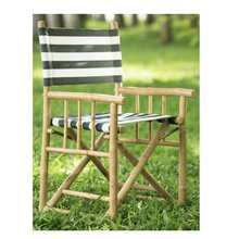 Bamboo director chair - SOLD AS A MINIMUM OF 4 ONLY