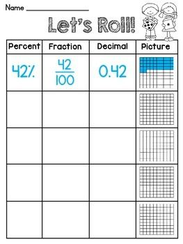 fractions decimals percents decimal and fractions. Black Bedroom Furniture Sets. Home Design Ideas