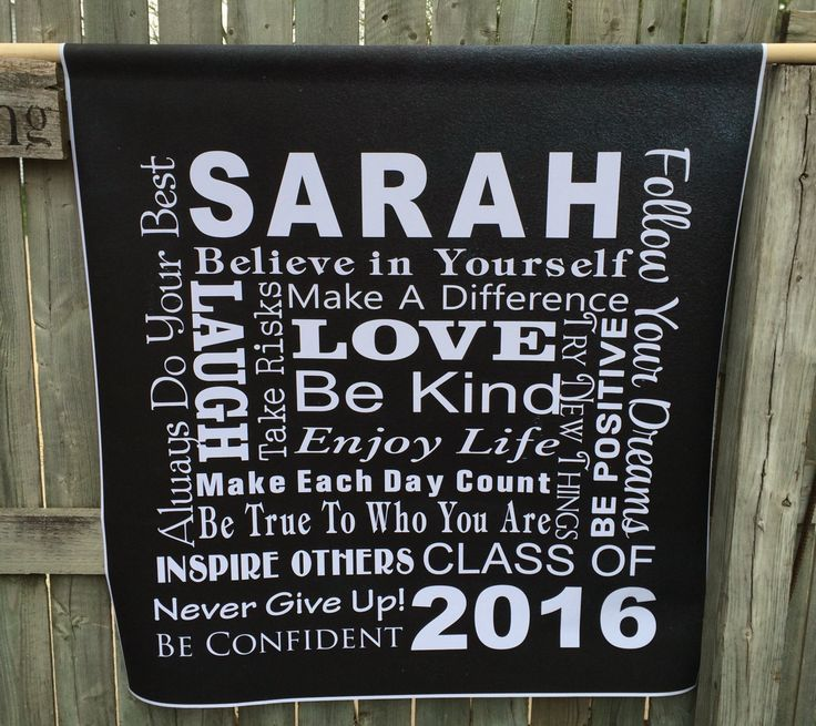 high school graduation banners