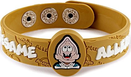 Sesame Allergy AllerMates Wristband