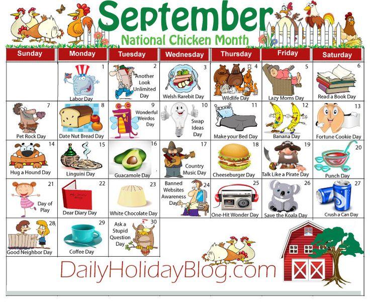 september holiday calendar                                                                                                                                                                                 More