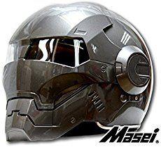 Custom Motorcycle Helmet Conversions - How to make an Iron Man Motorcycle Helmet