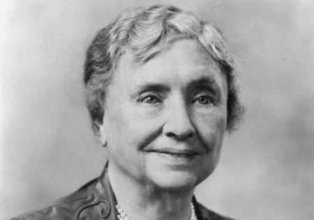 Helen Keller was an American author, political activist, and lecturer. She was the first deafblind person to earn a Bachelor of Arts degree. She campaigned for women's suffrage, workers' rights, and socialism, as well as many other leftist causes.