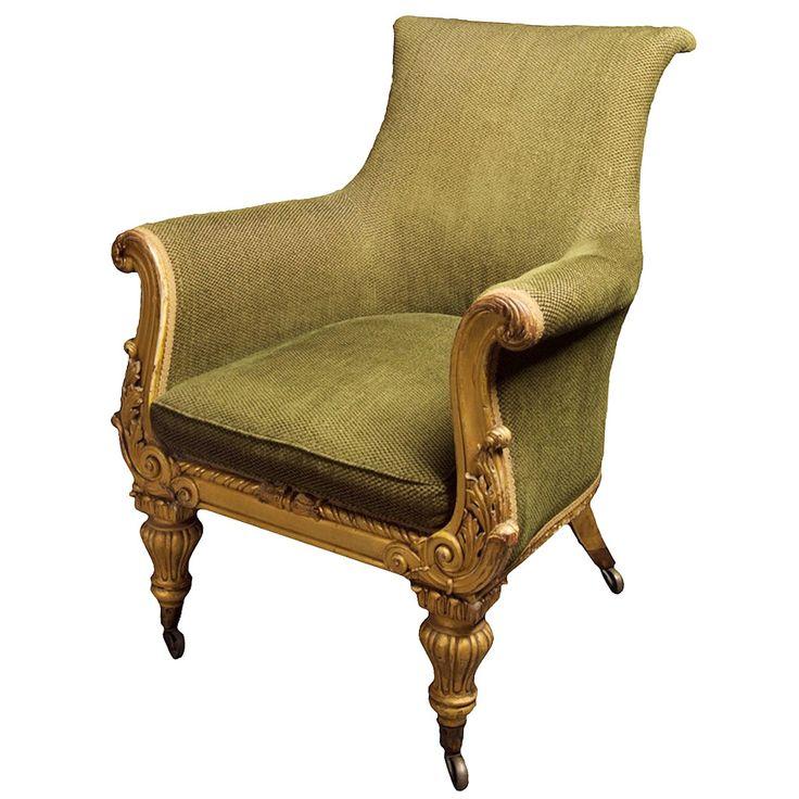 English Regency Bergere Chair Circa 1815 Fabulous