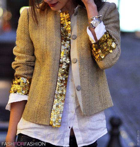 beautiful jacket=channel/sparkle