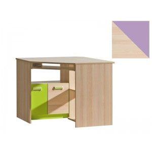 Corner Computer Desk LORENTO L11 #DakoHome #Desks #OfficeTables #CornerComputerDeskLORENTOL11