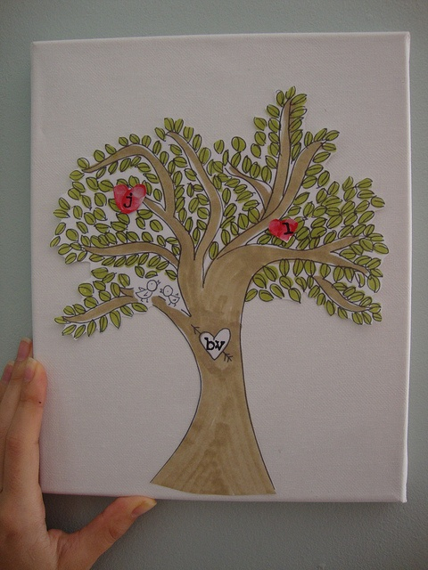 Thumbprint Family TreeThumbprint Heart, Heart Crafts, Crafts Ideas, Heart Families, Valentine Ideas, Thumbprint Families, Families Trees, Happy Heart, Activities Ideas
