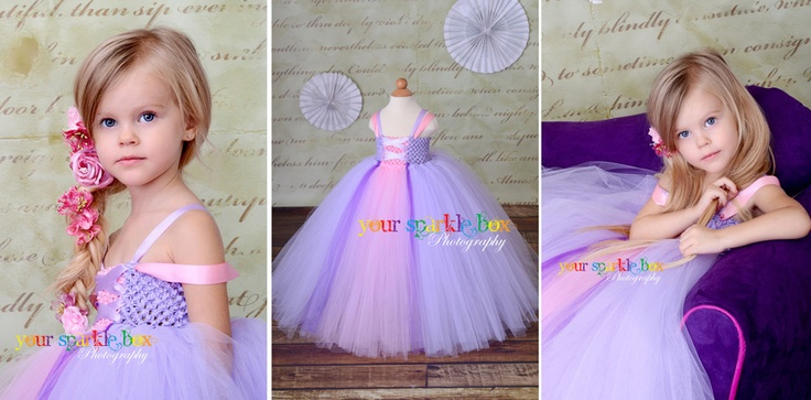 Tulle princess dresses, cute idea but I'm not sure I could stomach the price.