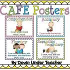 This file has 4 CAFE posters for your CAFE Reading Strategies board. It has a bright and cheerful polka dot background.   This pack coordinates wit...