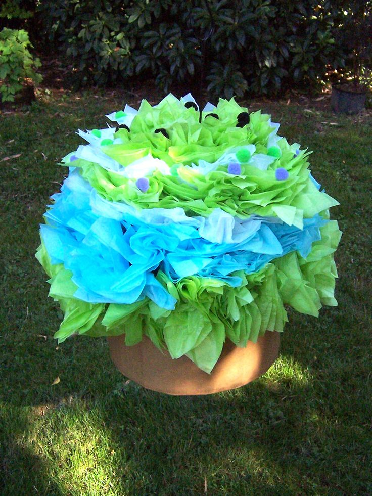 cup cake pinata  2ft x 2ft  by Christina Anderson
