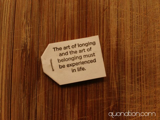 Art Of Longing And Belonging Quonation Quotes Pinterest Quotes