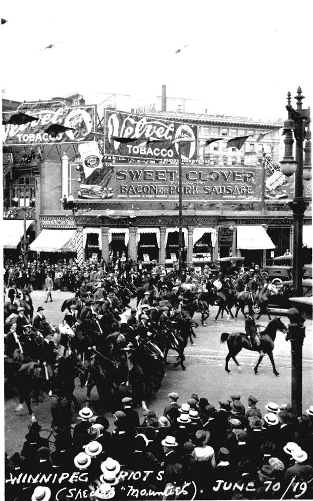 Photo 'Winnipeg - General Strike 1919'