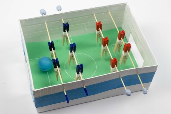 shoebox table foosball